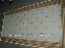 Front Door hand block Curtains printed Cotton fabrics hippie bedroom oragandy Curatins handblock printed curtains for doors