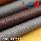 [Leather Material, PU Leather]AB grade black waterproof finished deer skin grain geniune leather for gloves and bags