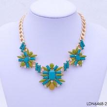 Costume garden fan factory wholesale cheap necklace