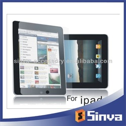 2013 top new matte anti-glare screen protector for ipad