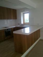stylish and modern wooden kitchen