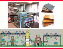 Wuxi Qiangtong Short Cycle Hot Press Line/Double side short cycle hot press-D2 model