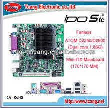 Intel ATOM D2550 LVDS VGA Mini-ITX Mainboard/ motherboard