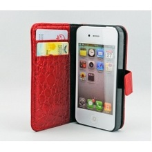 Carry Case Hia27 For Iphone 4 And 4S Red