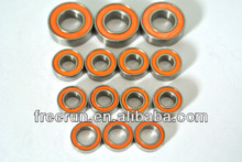 High Performance NANDA RACING NRB-3 TRUGGY ceramic bearing kits with different rubber seal color