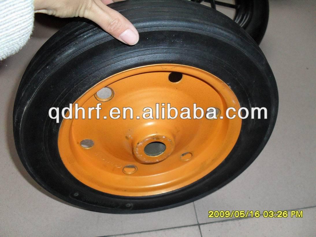 13x3 solid wheel