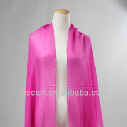 fashion lady dark pink wool wrap