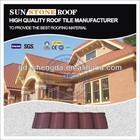 Weatherproof alu coated metal roof brick and tile sheets