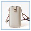 Handmade Shoulder Strap PU Mobile Phone Holder Bean Bag