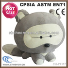 Child gift x hamster animals plush raccoon
