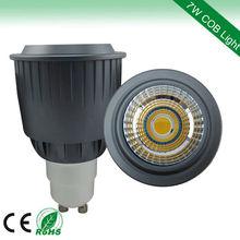 new 2013 hot 7w 520lumen cw 120v led adapter bulb gu10 to e27
