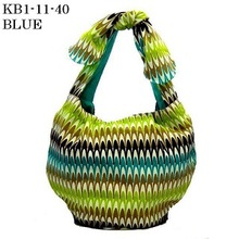 A japanese handmade knitting bags used for beautiful your life