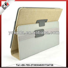 2013 leather sticker stand case for iPad Air,for iPad air case