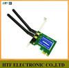 high power customized 300M desktop capacity 802.11b/g/n Mini PCI-e usb wifi adapter for pcmcia card