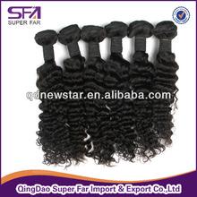 bulk 100% human eurasian curly hair