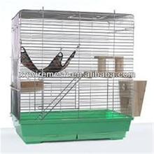 """48x32x22"""" Large Cat Rabbit Chinchillas Ferret Pet Cage 2 Door Playpen Wire Crate"""