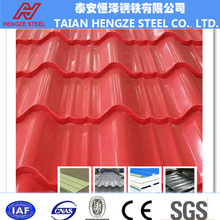 Manufacture of steel roofing sheet/ Construction building roofing material/ Corrugated sheet