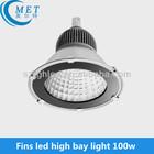 100w 150w e40 led gym high bay lighting led workshop light warehouse led high bay light