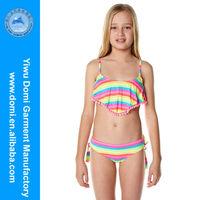 Domi sexy neon stripe kids bikini children photo sex,micro kids/girls bikini swimwear,young sexi girl bikini swimwear model