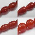 สีแดงโมราหิน, รอบ6- 14mm, รูปทรงอื่นๆสามารถใช้ได้, 16- นิ้วต่อสาระ