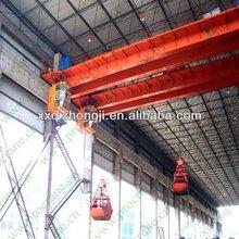 40 tones new electric grab bucket crane