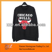 2013 sweat activated shirt V-shaped elastic design printed bulls