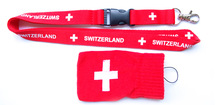 red special lanyard with pouch