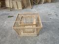 De bambu cesta da bicicleta - Vietnam produtos de artesanato