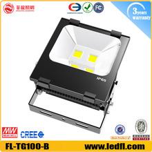 china price led lights bulb 100w COB led flood light outdoor light