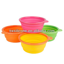 2013 hot sale and eco-friendly travel pet bowl,silicone travel pet bowl,pet bowl for travel