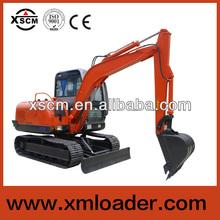 XSCM ST608L 6 ton bucket wheel excavator crawler excavators