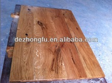 brush oak table top