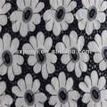 nueva marca de calidad de la moda de algodón de la tela de algodón bordado de tela de algodón tela