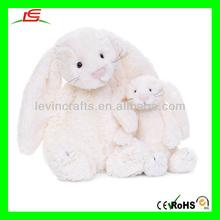 D882 Huggable Cream Bunny - Large Stuffed Anime Goods