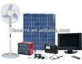 الطاقة الشمسية المنزلية نظام توليد الكهرباء 80w 12v33ah ces-1233 حديقة الطاقة الشمسية نظام إضاءة