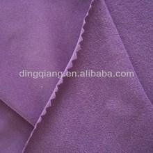 100% polyester knitted fabric speckled velvet