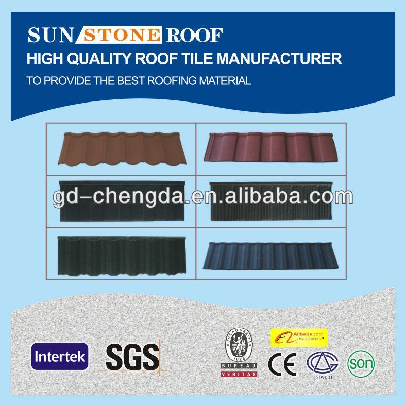 Shingles Asphalt Roof Metal Tiles/ Building Material Red Roof