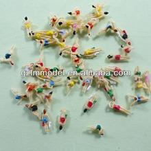 1:75 2.8cm SP75 plastic model people figure/miniature human figure model