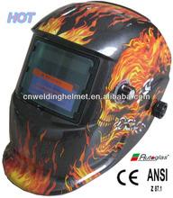 Flame Gost Auto Darkening Welding Helmet/automatic welding helmet