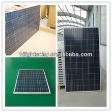 electricidad solar 240W poly solar panel