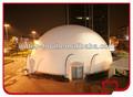 Tienda inflable, inflable cúpula de proyección de la tienda, inflable cúpula del planetario de la tienda