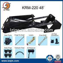 "KRM220 48"" truck dumper tractor hydraulic oil"