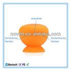 Bluetooth wireless mushroom mini digital led speaker