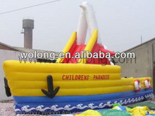 2014 commercial inflatable water slide,inflatable jumping castle play field for sale !!!