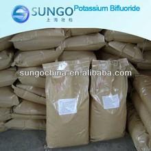 Potassium bifluoride 99% KHF2 Potassium hydrogen fluoride manufacturer supply