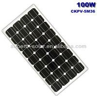 cheap mono solar modules 100w from china