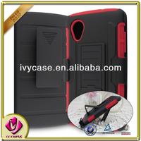 stand flip case for LG NEXUS 5 phone accessories