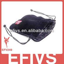 Wholesale cheap black velvet bag for gift package
