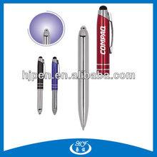 3-IN-1 Multifunctional Metal Ballpoint Pen With Light