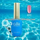 Sea Coral nail art diy printing